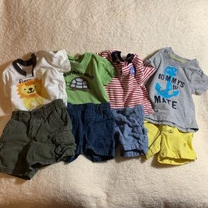 Lot of FOUR 12 month outfits!  - EIGHT pieces